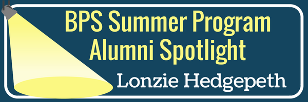 BPS Summer Program Alumni spotlight