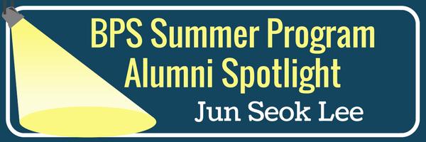 Alumni Spotlight -Jun Seok Lee
