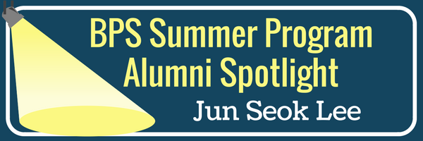 Alumni Spotlight -Jun Seok Lee